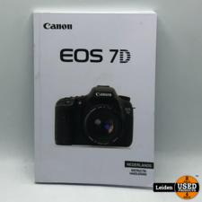 Canon EOS 7D Instructie Handleiding