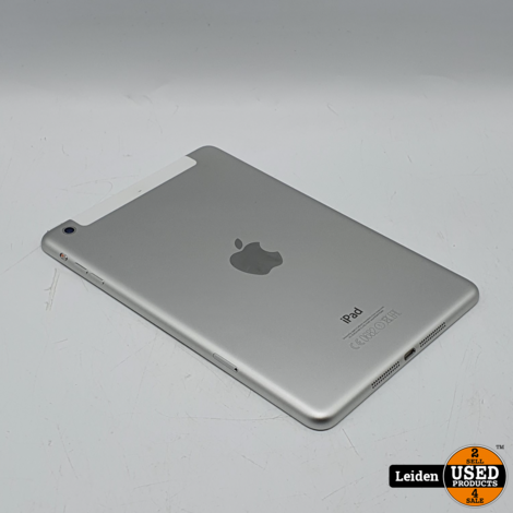 iPad Mini 2 Wifi Cellular 4G 32GB - Zilver