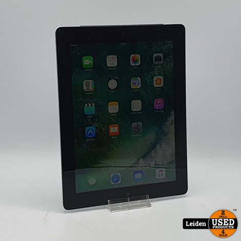 iPad 4 Wifi Cellular 4G 16GB - Zwart