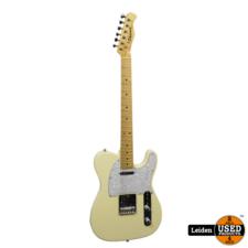 Phoenix Electric Guitar Telecaster Vintage White
