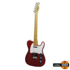 Phoenix Electric Guitar Telecaster Candy - Apple Red