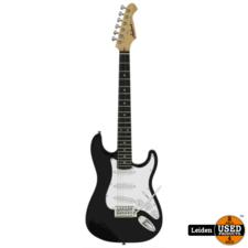Aria Electric Guitar Black STG-MINI BK
