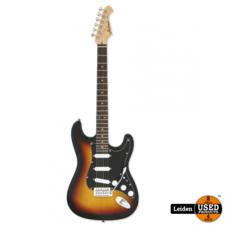 Aria Electric Guitar 3-Tone Sunburst STG-003SPL 3TS