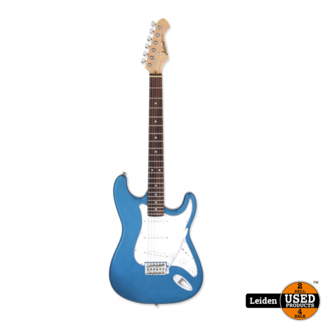 Aria Electric Guitar Metallic Blue STG-003 MBL