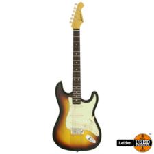 Aria Electric Guitar 3-Tone Sunburst STG-362 3TS