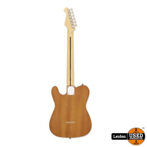 Aria Electric Guitar Naturel 615-TL N