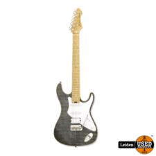 Aria Electric Guitar Black Diamond 714-MK2 BKDM