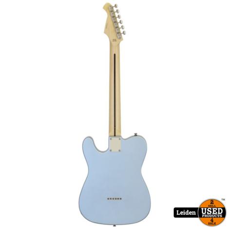Aria Electric Guitar Metallic Ice Blue 615-TL MIB