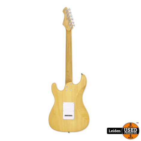 Aria Electric Guitar Marble White 714-MK2 MBWH
