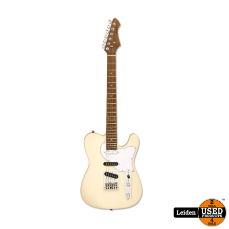 Aria Electric Guitar Marble White 615-MK2 MBWH