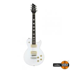 Aria Electric Guitar White PE-350 WH