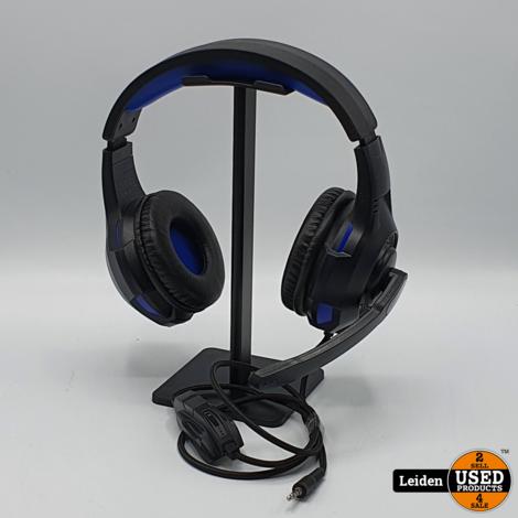 Trust GXT 307B Ravu - Gaming Headset - Geschikt voor PS4, PS5 en PC - Zwart/Blauw