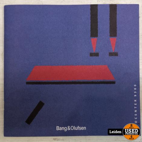 Bang & Olufsen Beocenter 9300 (lees omschrijving)