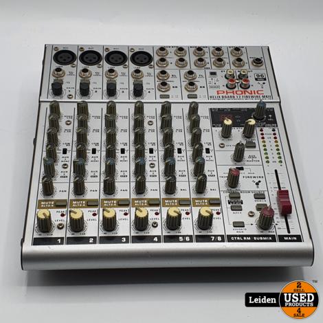 Phonic Helix Board 12 MKII Mengpaneel