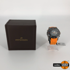 Paterson Dual Time Chronograaf COD.59 PT/279.00