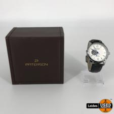 Paterson S. Steel CAL3668 Automaat COD.37HR/549.00 Horloge