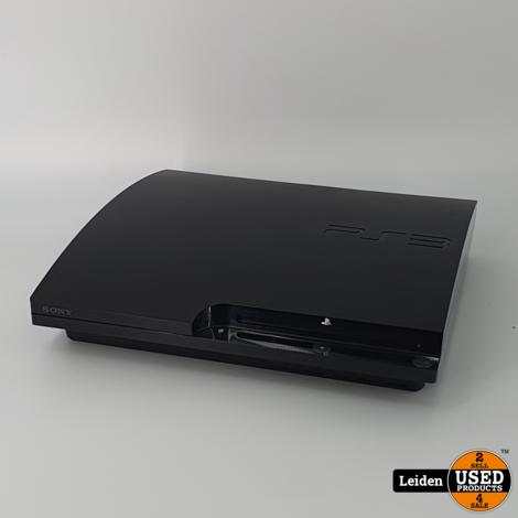 Playstation 3 Slim 320GB - Zwart
