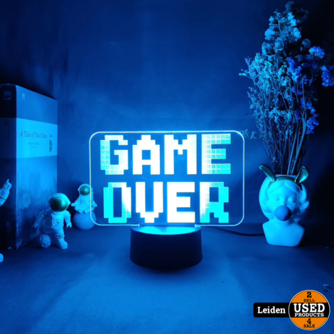 Backlight 'Game Over' Lamp