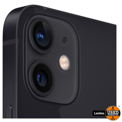 iPhone 12 Mini 64GB - Zwart (NIEUW)
