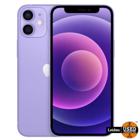 iPhone 12 Mini 64GB - Paars (NIEUW)