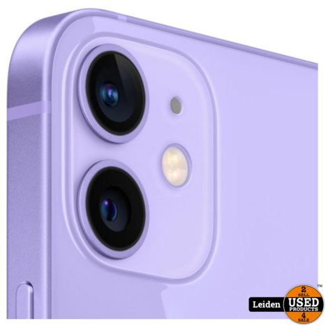 iPhone 12 Mini 128GB - Paars (NIEUW)