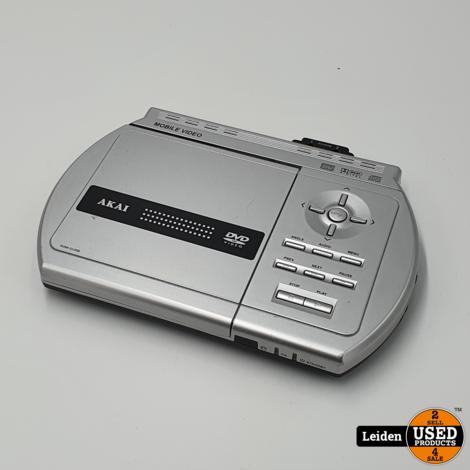 Akai ECV6605 Portable Dvd speler