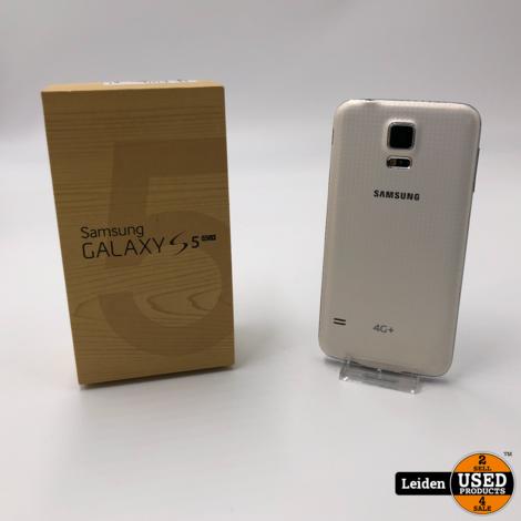 Samsung Galaxy S5 4G - Wit