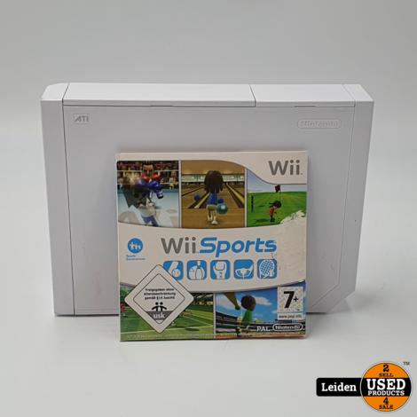 Nintendo Wii - Wit (Inclusief Wii Sports)