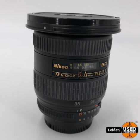 Nikon ED AF-S 18-35mm F/3.5-4.5 D Lens