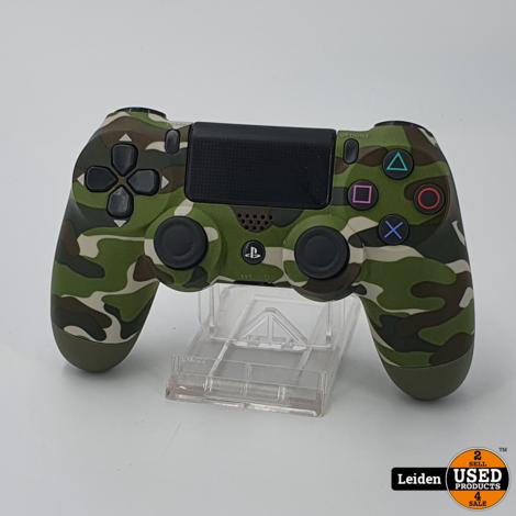 Playstation 4 Controller V2 - Green Camo