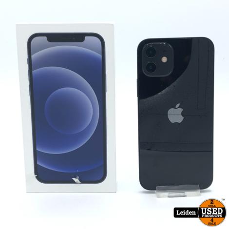 iPhone 12 Mini 128GB - Zwart (NIEUW)