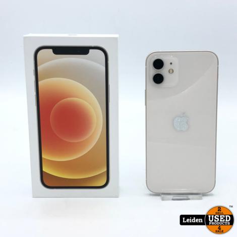 iPhone 12 Mini 128GB - Wit (NIEUW)