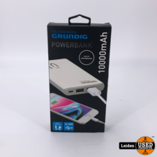 Grundig Grundig Portable Duel USB Powerbank 10000mAh