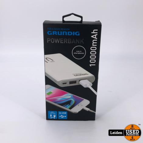 Grundig Portable Duel USB Powerbank 10000mAh