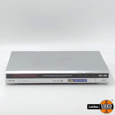 Sony RDR-HX725 DVD Recorder