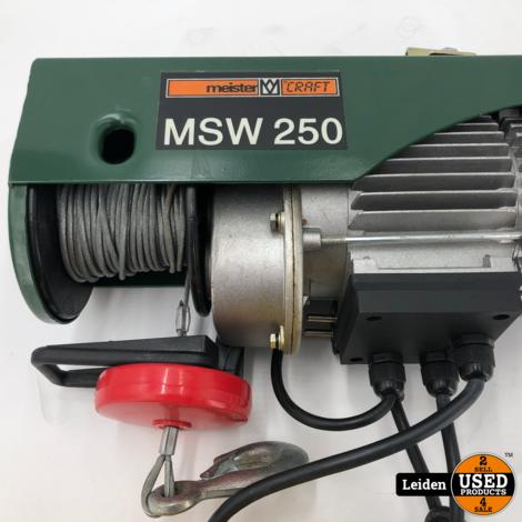 Meister Craft MSW 250 Elektrische Lier