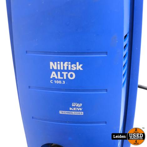 Nilfisk Alto C100.3 Hogedrukreiniger