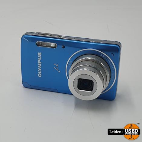 Olympus μ 5010 Camera - Licht Blauw