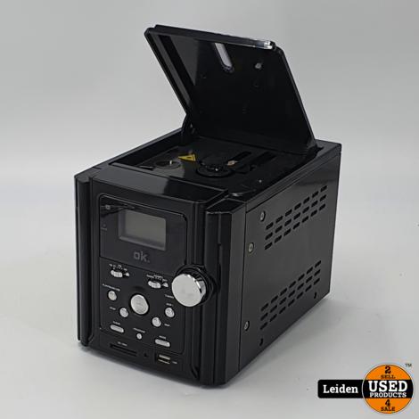 OK OMH-300 USB   SD   MP3   CD   Radio Micro Systeem