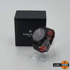 Alpha Sierra Alpha Sierra Defcon LGM32RL - Herenhorloge - Ø 46 mm - Limited Edition