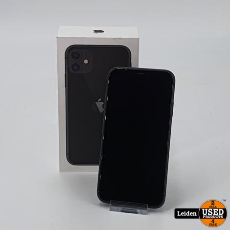 Apple iPhone 11 64GB - Zwart