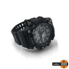 Coolwatch horloge CW.388 analoog/digitaal zwart