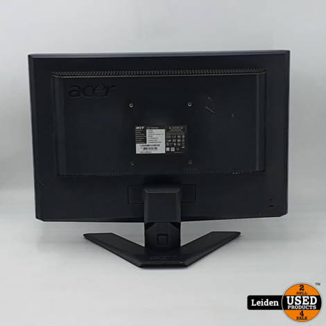 Acer X193W LCD monitor
