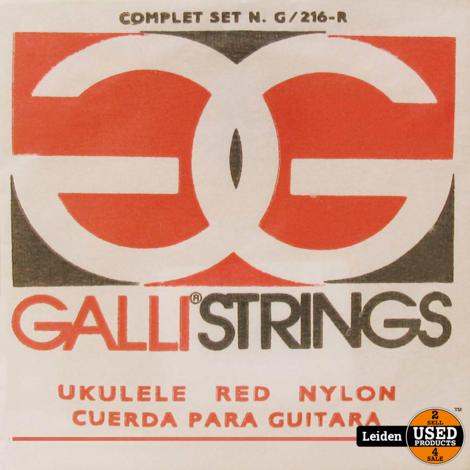 G-216-R   Galli snarenset ukelele - Rood