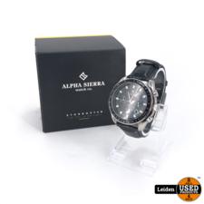 Alpha Sierra Alpha Sierra Starbuster BS101 - Chrono series - 44 mm - Horloge