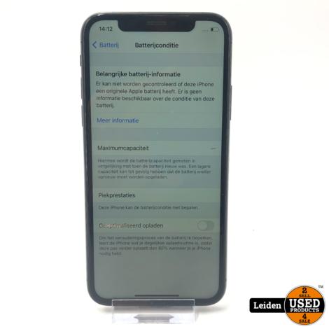 Apple iPhone XS 64GB - Spacegrijs (Met defecten lees omschrijving)