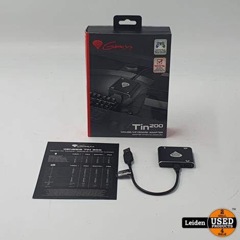GENESIS TIN 200 Muis en toetsenbord adapter voor de PS4 PS3 Xbox One en Nintendo Switch