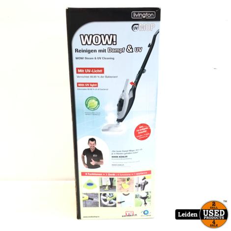 Livington UV Mop 8-in-1 Stoomreiniger