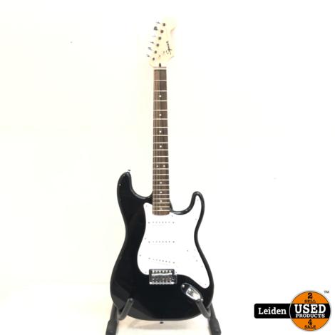 Fender Squier Stratocaster - Zwart (Made in Indonesia)