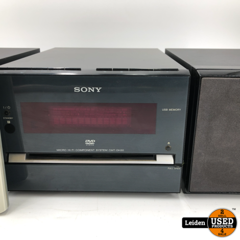 Sony HCD-DH30 DVD Compact Stereo Systeem